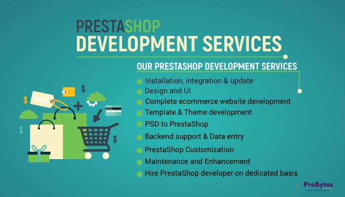 Prestashop Website Development Services Company