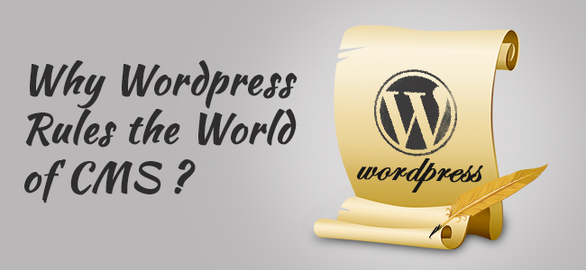 Why Wordpress Rules the World of CMS